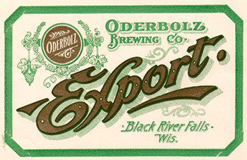 Oderbolz Beer label
