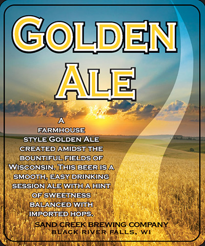 Sand Creek Golden Ale