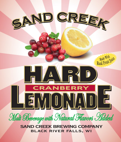 Sand Creek Hard Cranberry  Lemonade