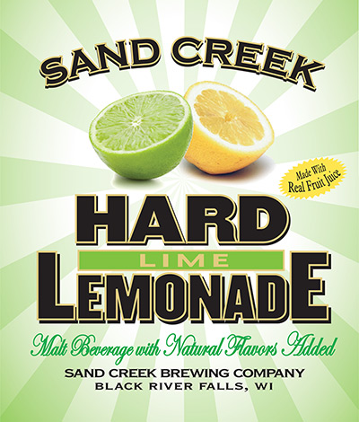 Sand Creek Hard Lime Lemonade
