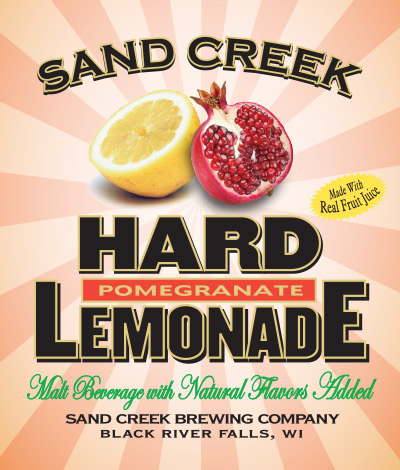 Sand Creek Hard Pomegranate Lemonade